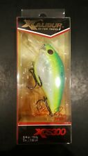 "Discontinued XCalibur XCS100 2/"" Sq Lip XCS10043 Silnt Citrus Shad"