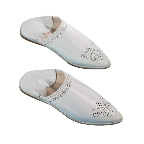 Handmade Leather Women/'s Hole Design Moroccan Slippers Of Choice Babouches