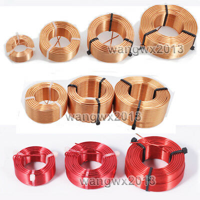 1.0mm 0.22mH-7.3mH Audio Amplifier Speaker Crossover Inductor Oxygen-Free Copper