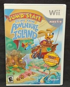Escape From Adventure Island - Nintendo Wii Wii U Game 1 Owner CLEAN Mint Disc !
