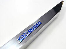 90-93 ACURA INTEGRA MIRROR POLISH REAR LOWER TIE BAR WITH BLUE JDM EMBLEM DA DB