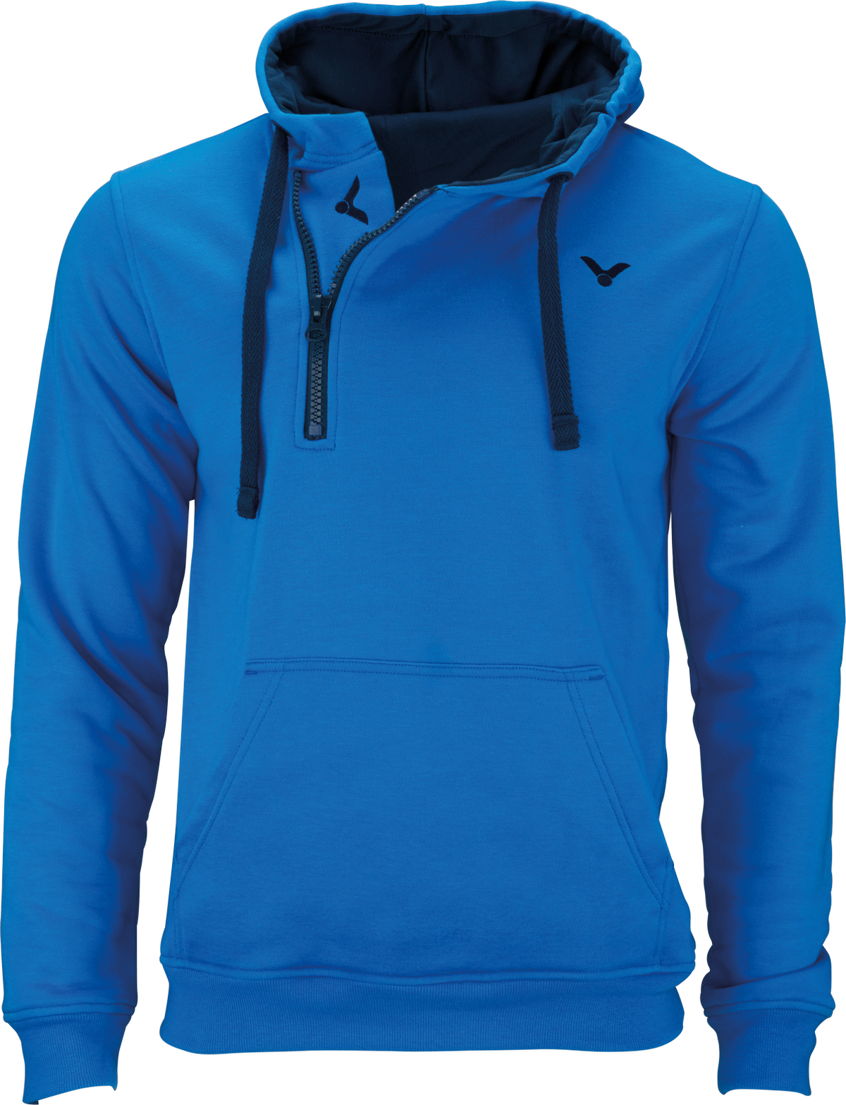 Victor sweater team 5108 badminton table tennis leisure sport training suit Blau