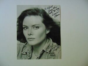 VINTAGE-034-Pippin-034-Denise-Pence-Hand-Signed-8X10-B-amp-W-Photo-Todd-Mueller-COA