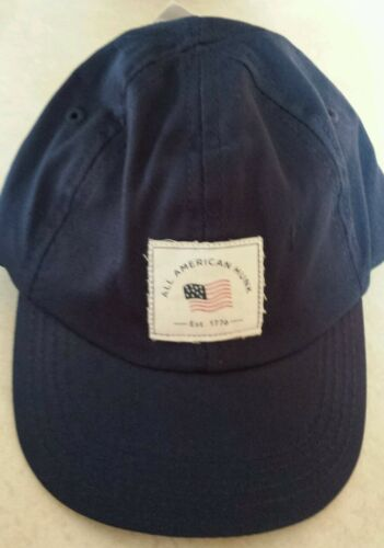 """NWT Carter/'s Baby Boys Cap /""""All American Hunk/"""" Navy Blue size 3-9 Months"""