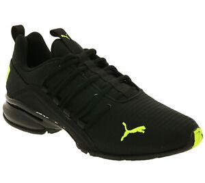 Details zu PUMA Schuhe robuste Herren Outdoor Laufschuhe Axelion Rip Fitnessschuhe Schwarz