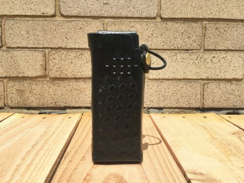 tm APX 6000//APX 8000 1.5 Smooth Leather Case w//svl B//L by Caseguys Motorola
