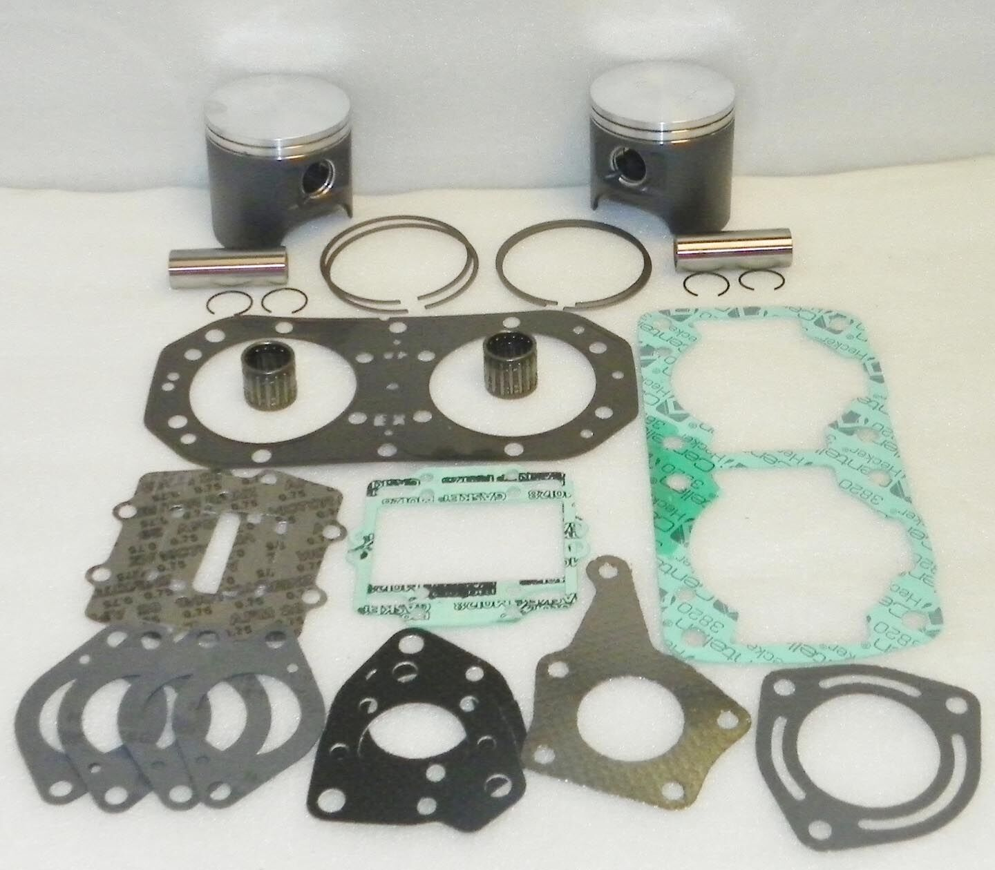 Top End Rebuild Set Std Kawasaki 800 Sx-R Wsm Platinum 010-843-10P Wsm 010-843-1