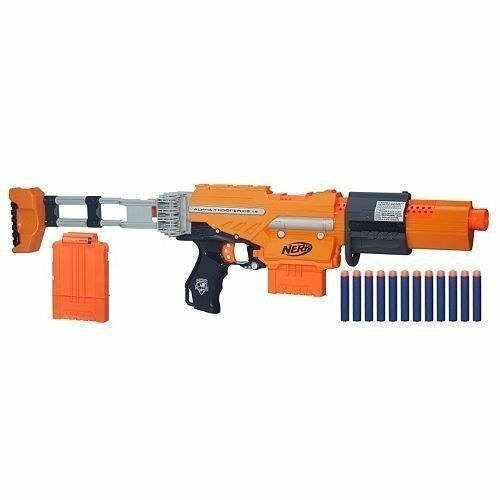 Marca Nueva Elite Nerf Alfa Trooper Blaster Kit de misión CS-6