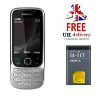NUOVA condizione Nokia Classic 6303i Argento Acciaio (Sbloccato) Cellulare