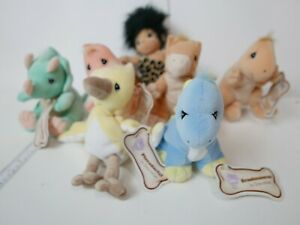 Lot-of-7-Precious-Moments-Tender-Tails-Dino-Mites-Series-with-Tag