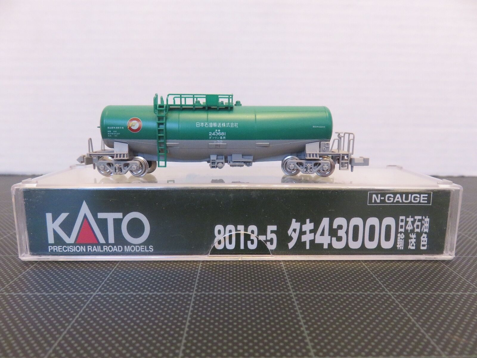 KATO 8013-5 Series 43000 Japanese TANK CAR Model Train N-Scale verde/grigio T165
