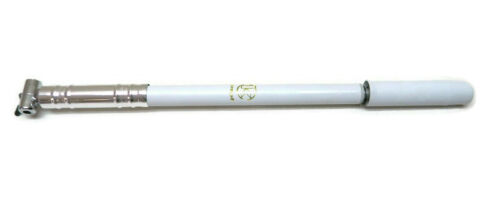 Vintage SILCA Impero Bicycle Pump Made in Italy White