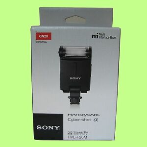 Genuine-Sony-HVL-F20M-External-Flash-For-Multi-Interface-Shoe
