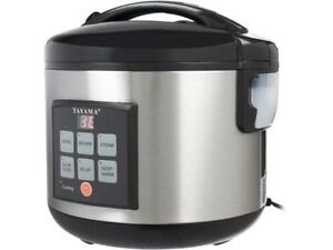 Tayama-TRC-80-MICOM-Digital-Rice-Cooker-and-Food-Steamer-Black-16-Cups-cooked
