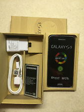 NEW Samsung Galaxy S5 SM-G900A Black T-Mobile Unlocked phone ATT Straighttalk DI