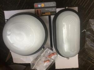 traditional sauna light 110V , max. 60w  both round and oval in stock in Edmonton,humid proof/ heat resistant sauna ligh Edmonton Area Preview