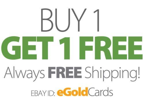 Brett Favre láser línea Gold Card calificado gema menta 10 New York Jets Bogo *