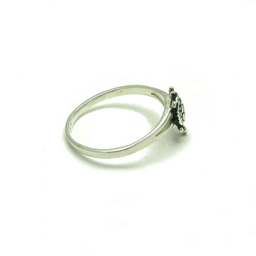 STERLING SILVER RING SOLID 925 SMALL TURTLE SIZE 3.5-8 EMPRESS R001273