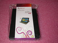 """rooCASE for Amazon Kindle Fire HD 8.9"""" - Dual-View Leather Folio Case BLK Lot C2"""