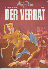 Alef-Thau DER VERRAT Band 2 Jodorowsky Arno ComicArt Carlsen Softcover Z 0-1