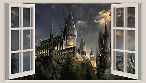 Image Is Loading Huge D Window Wall Art Sticker Harry Potter
