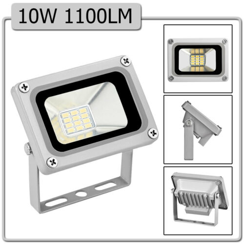 4x 10W LED Floodlight 12V Low Voltage Garden Outdoor Cool Daylight White Lamp UK