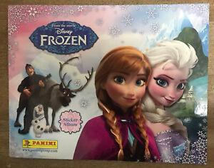 PANINI Disney FROZEN SERIES 1 ORIGINAL 192 Stickers 100% Completed Album +Extras