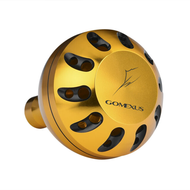 47mm Drill Gomexus Power Knob For Penn Shimano Daiwa Avet Okuma Reel Handle 45