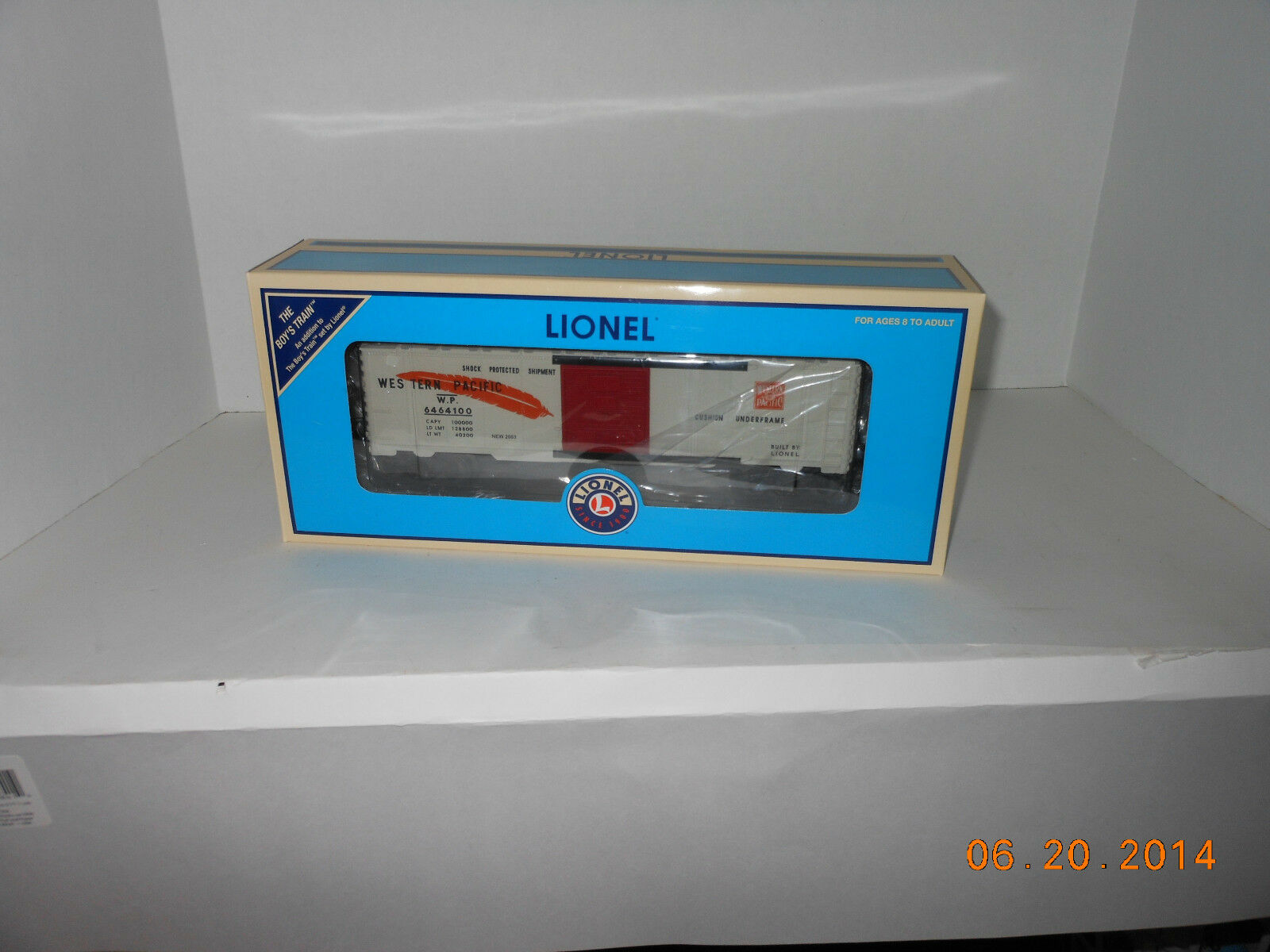 Lionel   39257  6464-100 Western Pacific Boxcar add on for Boy's Set