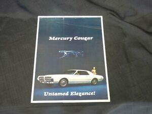 1967-Mercury-Cougar-Car-Catalog-Dealer-Sales-Brochure-CDN