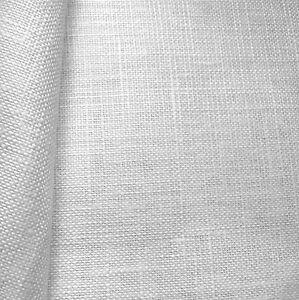 28 count Zweigart Cashel Linen Fabric size 49 x 70cm White