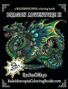 Details about Adventure Continues : A Kaleidoscopia Coloring Book,  Paperback by Mayo, Racha...