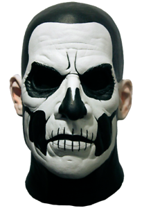 Papa Emeritus II Standard Adult Latex Mask Ghost
