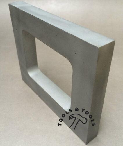 "De Aluminio Molde marco único cavidad Vulcanizador De Goma Talle 4 /""x 4-7//8/"" Casting"
