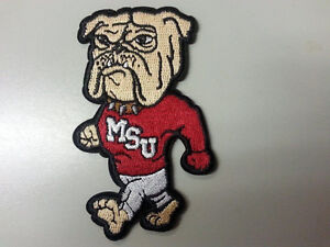 MSU-Mississippi-State-UNIVERSITY-BULLDOGS-Vintage-Embroidered-Iron-On-Patch-3-034