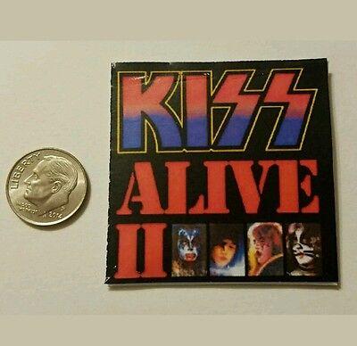 Miniature record albums Barbie Gi Joe  action Figure size Kiss band Playscale A