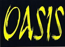 $ OASIS Rave Flyer Flyers A5 25/11/94 The Rhythm Station Aldershot