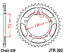 Honda-CBF1000-DID-Gold-X-Ring-Chain-and-JT-Sprockets-Kit-Set-2011-to-2015 thumbnail 3