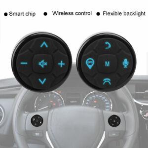 Universal-Wireless-Auto-Lenkrad-Fernbedienung-Radio-Player-10-Schluessel-ABS