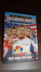 talladega nights the ballad of ricky bobby dvd 2006 full screen will ferrell 43396158658 ebay. Black Bedroom Furniture Sets. Home Design Ideas