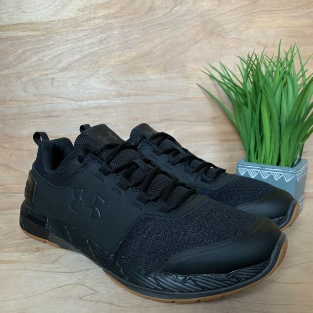 purchase cheap 3c27a 5284d Under Armour UA Commit TR EX Black / Gum Men's US Size 11 3020789-007