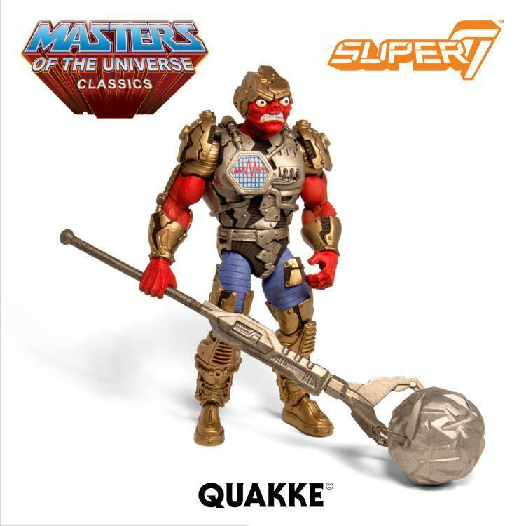 MOTU Masters Of The Universe Classics Quake Super 7 New MOTUC