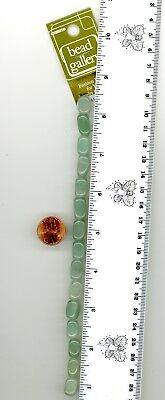 "9X5-12X7MM GREEN MOSS AVENTURINE GEMSTONE GREEN TEARDROP NUGGET LOOSE BEADS 14/"""
