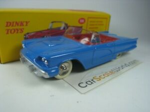 FORD-THUNDERBIRD-1-43-DINKY-TOYS-ATLAS-BLUE