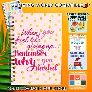 DIET FOOD DIARY /SLIMMING WORLD COMPATIBLE/ MEAL PLAN/ WEIGHT LOSS/ 2021 PLANNER