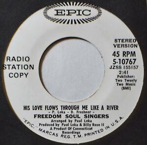 Freedom-Soul-Singers-His-Love-Flows-Through-Me-DJ-45-7-034-Vinyl-Extras-Ship-Free