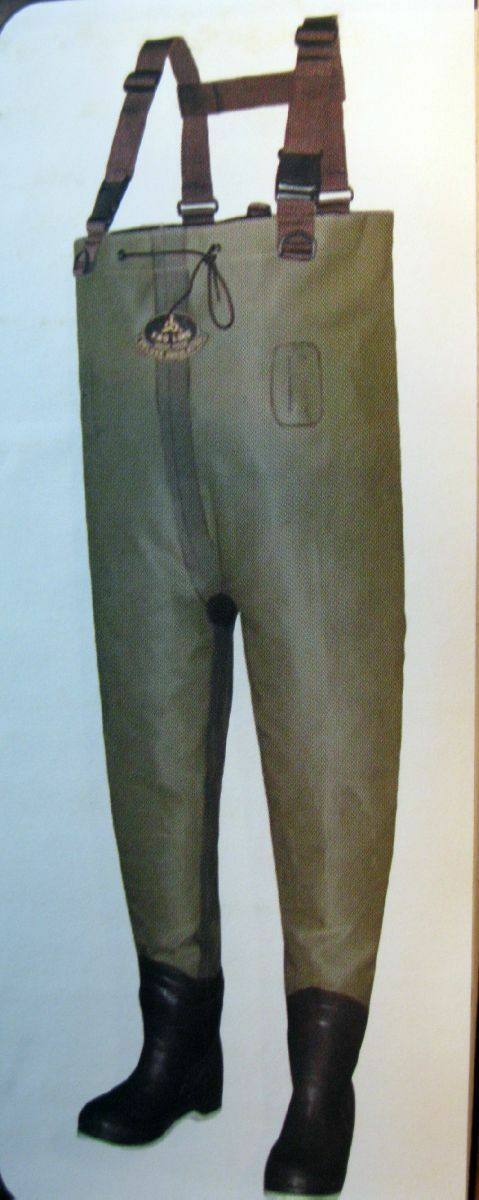 NEW Proline 200 gram Thinsulate Insulated Khaki Chest Fishing Waders  w Boots  fashion
