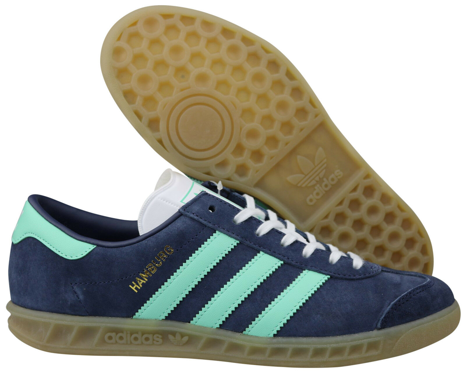 ADIDAS Originals Amburgo W scarpe da ginnastica Donna 36 Scarpe Blu bb5112 Taglia 36 Donna - 40,5 NUOVO OVP 789c88