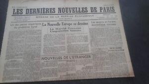 Periodico-Los-mas-Reciente-Nuevas-De-Paris-N-44-Viernes-2-Agosto-1940-ABE
