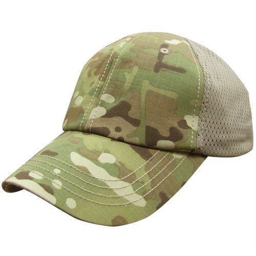 Front Patch Removed for Embroidery Condor Mesh Tactical Team Cap
